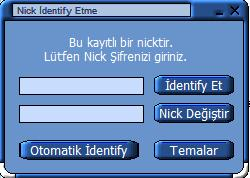 Otomatik Nick İdentify Gui Version